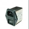 赛纪带保险丝和开关IEC插座滤波器