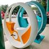 霍州自行车喷泉具有智能识别系统 山东三