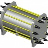 水电解制备装置电解槽